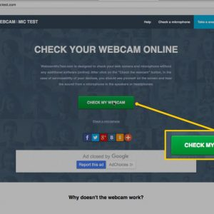 How to Test a Webcam
