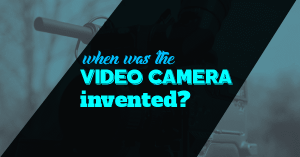 When Was The Video Camera Invented?   IamitheFilm