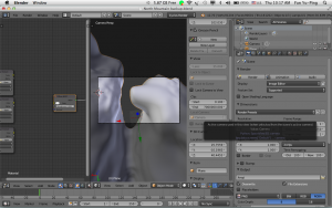 Active camera have a short view distance,how do I increase it? - Blender  Stack Exchange