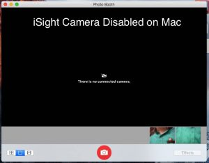 how to turn on/ disable iSight camera on Mac OS X