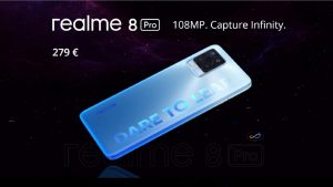 Realme 8 Pro with 108-megapixel camera is coming to the Netherlands