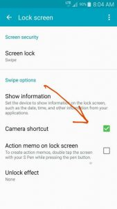 Remove Swipe From Camera lockscreen - Android Forums at AndroidCentral.com