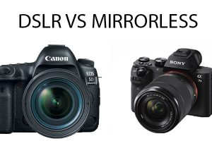 Mirrorless camera vs DSLR | Which one is Best for Photography