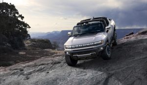 GMC reveals the Hummer EV: 1,000 HP, 350-mile range and 0-60 in 'around 3  seconds'   TechCrunch