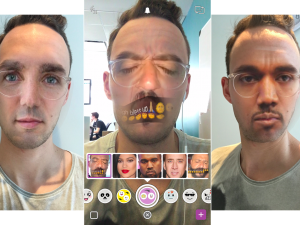 How to face swap in Snapchat from camera roll