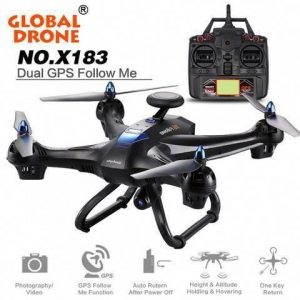 Global Drone X183 - RC 5GHz WiFi FPV Quadcopter Drone with 1080P Camera  (BLACK): Price: 9.99 Category:… #rcToysDrones #Dr… | Drone gps, Fpv  quadcopter, Hd camera