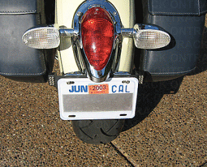 Make your Motorcycle Invisible to Traffic Cameras With No Photo License  Plate Shields - Camera Jammer