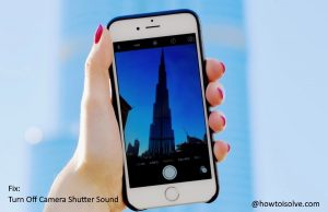 How to Turn off Camera Shutter Sound on iPhone 12Pro,11 Pro Max,XR