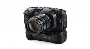 Blackmagic announces a new battery grip for its Pocket Cinema Camera 4K:  Digital Photography Review