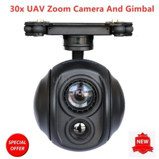 30x Zoom Dual Sensor of Gimbal Camera thermal infrared camera drone for UAV  FPV RC Drones - D-teck.co.uk