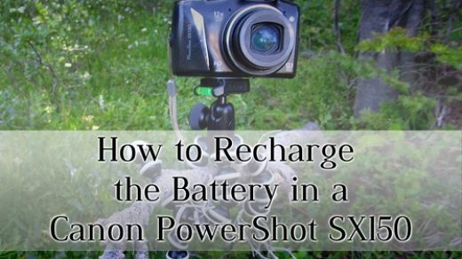 How to Fix the Internal Battery on a Canon PowerShot SX150 Camera - Anne's  Travels