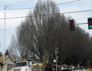 """West Seattle's red-light camera debut: In place on """"I-35"""" 