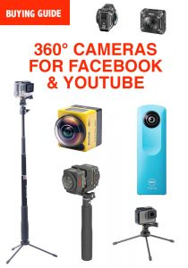 What is the Best 360 Camera for Facebook & YouTube? 360 Degree Videos &  Photos - Action Camera Central