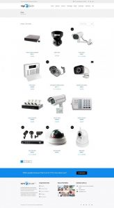 Vigil - CCTV Security WordPress Theme | Security camera system, Security  equipment, Security solutions