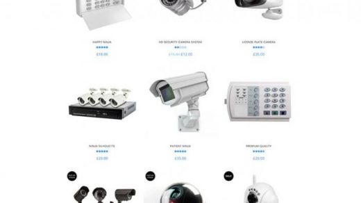 Vigil - CCTV Security WordPress Theme   Security camera system, Security  equipment, Security solutions