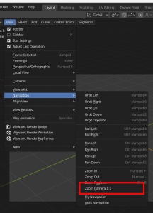 Fit camera view to blender window view - Basics & Interface - Blender  Artists Community