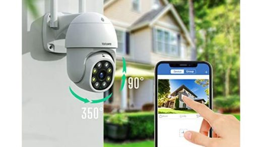 TOGUAGD Wireless Home Security Camera System Outdoor PTZ Cameras and Bullet  Cameras with 1TB Hard Drive 3MP WiFi… - Rds Electronic Sales