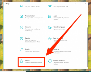 How to Turn on the Camera on a Windows 10 Computer