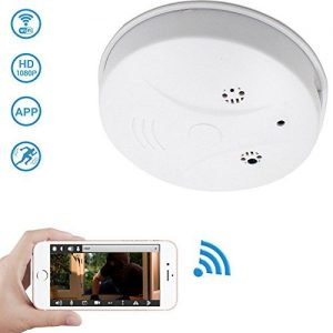 UNIQUE DESIGN-It looks like a smoke detector(without real smoke detector  function),with … | Security cameras for home, Wireless home security  systems, Home security