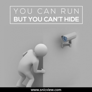 Thinking to escape from our CCTV cameras? Well, it is not possible.   Cctv  security systems, Security camera installation, Security cameras for home