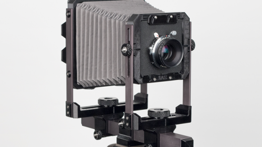 The Standard 4x5 Lets You Build Your Own Modular Large Format Camera