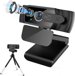 USB Webcam 1080P HD Webcam with Microphone for PC Microsoft Web Camera  Video Webcam Streaming Camera with Privacy Cover Tripod 30fps Webcam  Laptop... - Knowledge Is Power | Online Shopping With Unbelievable Deals