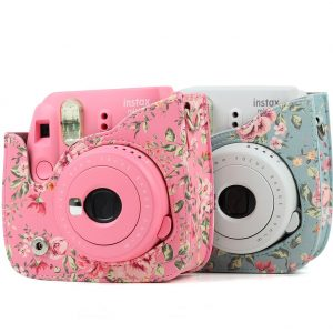 Camera, Photo & Video PU Leather Mini 9 Instant Camera with Removable  Shoulder Strap Protective Camera Case for Fujifilm Instax Mini 8 Mini 8  Case for Fujifilm Instax Mini 8/8+/9, Rose Blue Electronics geniemensch.com