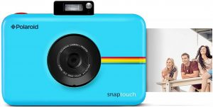 Amazon.com : Zink Polaroid Snap Touch Portable Instant Print Digital Camera  with LCD Touchscreen Display (Blue) : Camera & Photo