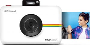 Amazon.com : Zink Polaroid Snap Touch Portable Instant Print Digital Camera  with LCD Touchscreen Display (White) : Camera & Photo