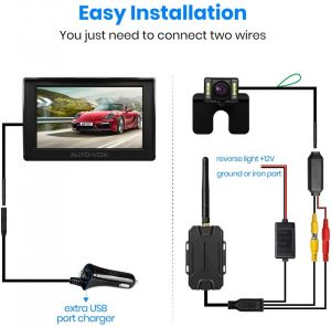 Tutorial How To Install A AUTO-VOX M1W Wireless Backup Camera - Top Ten  Tech Review Guide For Buyers