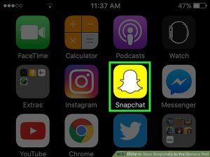 How to save snapchat stickers to camera roll