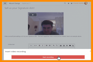 Audio and Video - native recording in Moodle editor - ElearningWorld.org