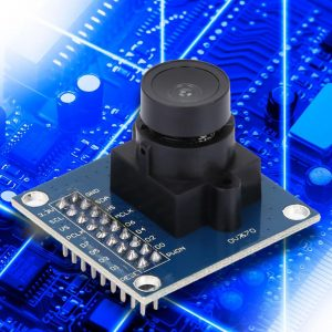 VGA OV7670 CMOS Camera Module Lens CMOS 640X480 SCCB Compatible W/ I2C  Interface LEDs, LCDs & Display Modules Business & Industrial