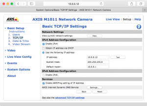 networking - Access wired network camera(s) through a switch without  disconnecting from wireless internet - Ask Ubuntu