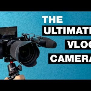 The Best Sony Vlogging Camera & Accessories | Vlogging camera, Best  vlogging camera, Vlogging