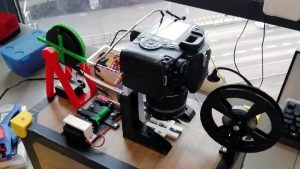 8mm Film Scanner Grows Into A Masterpiece   Hackaday