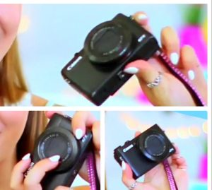 What vlog camera does Alisha Marie use? Let me know