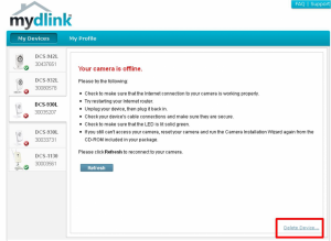How do I remove my D-Link camera from my mydlink account? | D-Link Blog Home