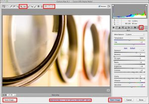 Differences between Adobe Camera Raw and the Camera Raw filter