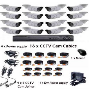 AHD 16 Channel Kit – 16 Channel Camera AHD CCTV Security Recording – Online  Shopping South Africa