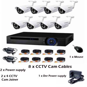 ANNI 8CH CCTV KIT FULL HD AHD 8 SECURITY CAMERA SYSTEM – Online Shopping  South Africa
