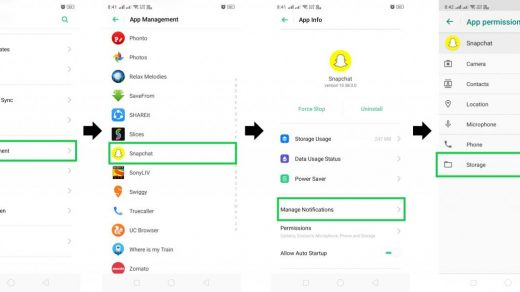 How to Put Camera Roll Pictures on Snapchat Story - Config Router