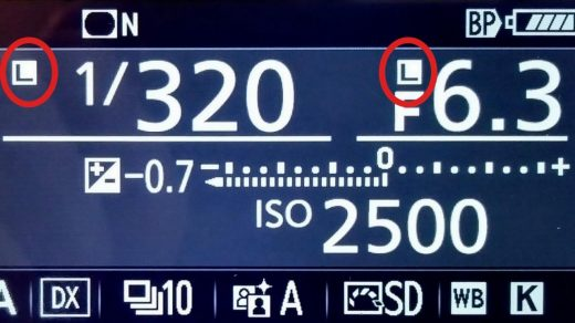 How to lock the aperture/shutter speed on many cameras - The Photo Classroom
