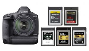 Best CFexpress Memory Cards for Canon EOS-1D X Mark III   Canon Camera  Rumors
