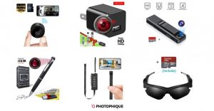 6 Best Spy Cameras - 2020's Top Small Hidden Cams | Photophique