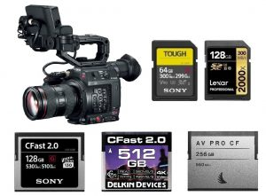 Best Memory Cards for Canon EOS C200 & C200B | Canon Camera Rumors