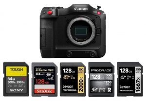 Best Memory Cards for Canon EOS C70   Canon Camera Rumors