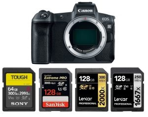 Best Memory Cards for Canon EOS R – Camera Ears