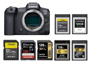 Best Memory Cards for Canon EOS R5 – Camera Ears