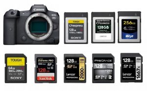 Best Memory Cards for Canon EOS R5 | Canon Camera Rumors